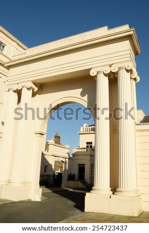 Ancient architectural style  - stock photo