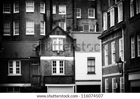 Ancient Architecture of London - stock photo