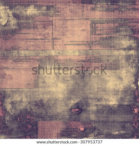 Ancient grunge background texture. With different color patterns: brown; purple (violet); gray; pink - stock photo