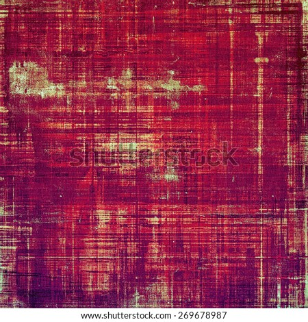 Ancient grunge background texture. With different color patterns: purple (violet); red (orange); pink - stock photo
