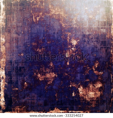 Ancient grunge background texture. With different color patterns: yellow (beige); brown; blue; purple (violet) - stock photo