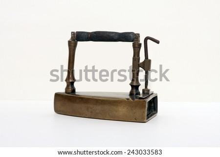 Ancient iron - stock photo