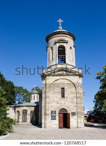 Ancient orthodox church in Kerch, Crimea, Ukraine - stock photo