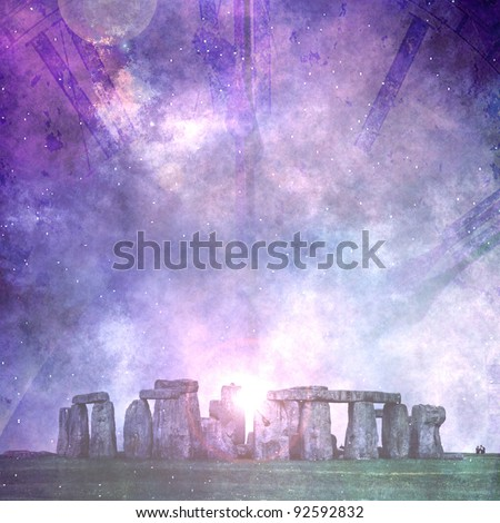 Ancients - stock photo