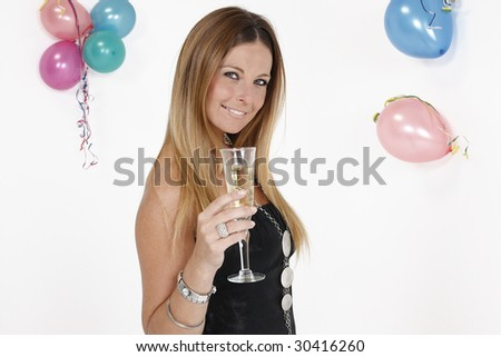 and cocktail party - stock photo
