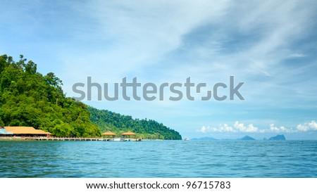 Andaman Shore - stock photo