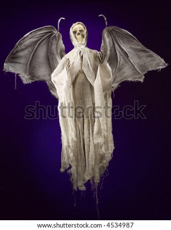 Angel of Death Grim Reaper - stock photo