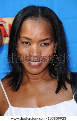Angela Bassett  at the Los Angeles Premiere of 'Handy Manny Motorcycle Adventure'. Arclight Hollywood, Hollywood, CA. 09-26-09 - stock photo