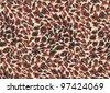 animal background - stock photo