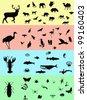 Animals banners - stock photo