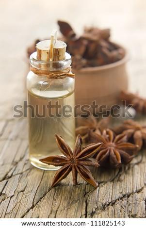 Anise oil - stock photo