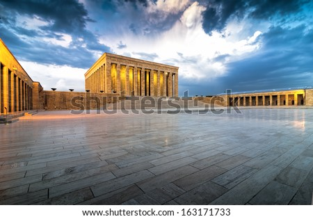Anitkabir - stock photo