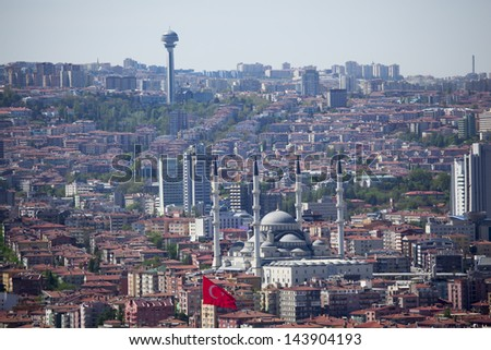 Ankara (Capital of Turkey) - stock photo