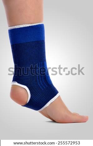 Ankle brace - stock photo