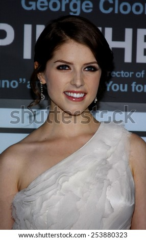 """Anna Kendrick at the Los Angeles Premiere of """"Up In The Air"""" held at the Mann Village Theater in Westwood, California, United States on November 30, 2009.  - stock photo"""