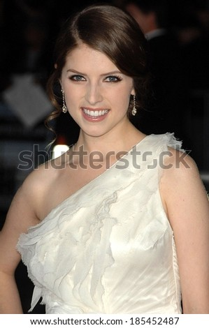 Anna Kendrick at UP IN THE AIR Premiere, Mann's Village Theatre in Westwood, Los Angeles, CA November 30, 2009 - stock photo