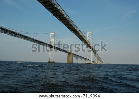 Annapolis Bay Bridge - stock photo
