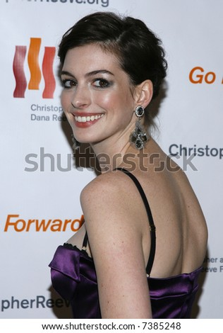 Anne Hathaway - stock photo