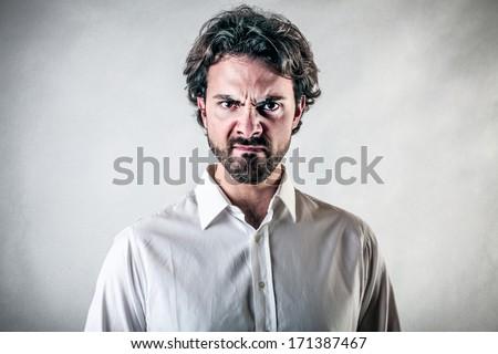 annoyance - stock photo