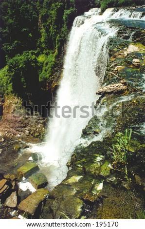 Another waterfall from Ontario (near Hamilton), Canada. - stock photo