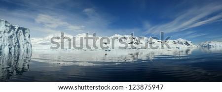 Antarctic Peninsula, - stock photo