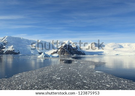 Antarctic Peninsula, - stock photo