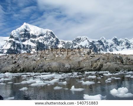 Antarctica - stock photo