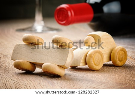 Anti-drink driving concept - stock photo