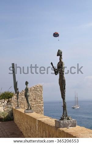 Antibes, France - stock photo