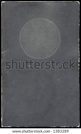 Antique booklet cover from early 1950's - stock photo