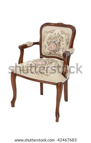 Antique Chair - stock photo