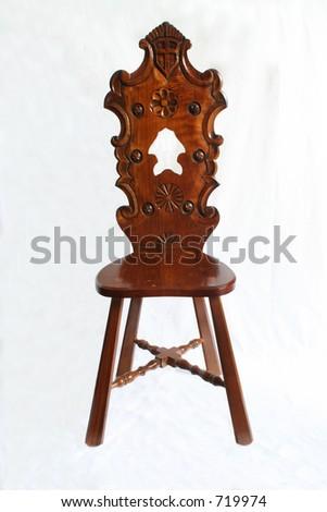 Antique chair 2 - stock photo