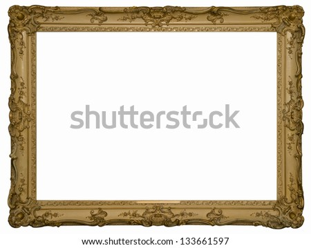 Antique decorative frame - stock photo