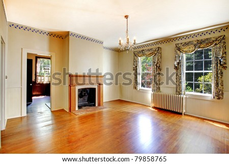 Antique dining room. Amazing home from 1856 has never been touched since then. All details remain original. Lakewood, Washington State, US. - stock photo