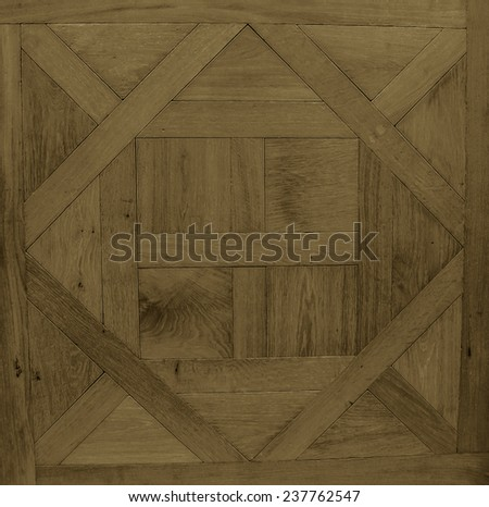 Antique flooring. The background texture. - stock photo