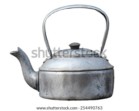Antique Kettle - stock photo