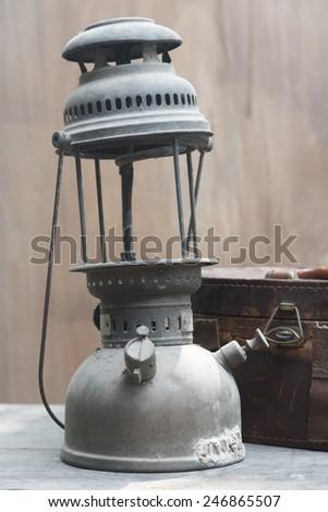 Antique lamps - stock photo