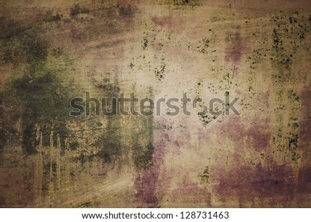 Antique Tinted Grunge Background - stock photo
