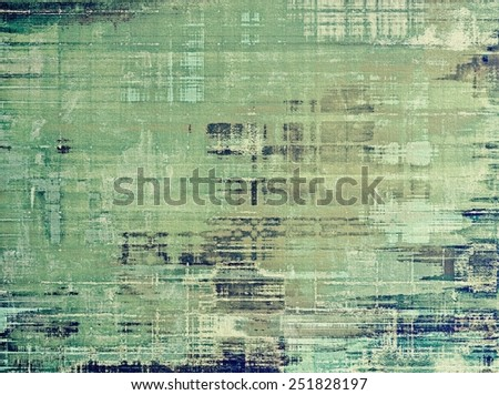 Antique vintage texture, old-fashioned weathered background. With different color patterns: blue; gray; green - stock photo