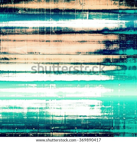 Antique vintage texture, old-fashioned weathered background. With different color patterns: yellow (beige); black; blue; white; cyan - stock photo