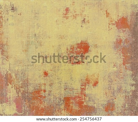 Antique vintage texture or background. With different color patterns: yellow (beige); brown; gray; red (orange) - stock photo