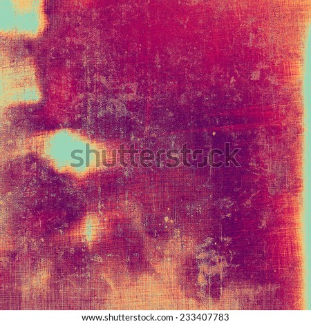 Antique vintage textured background. With different color patterns: blue; purple (violet); orange; red; yellow - stock photo
