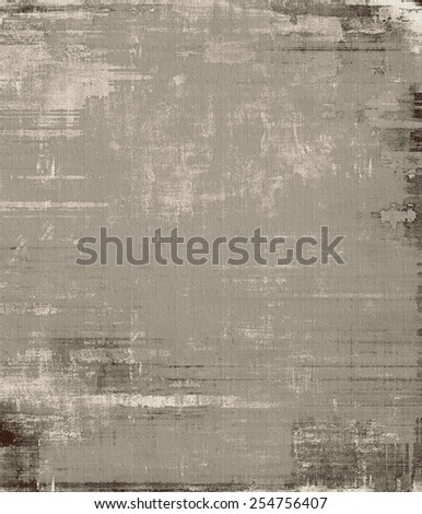 Antique vintage textured background. With different color patterns: brown; gray; black - stock photo