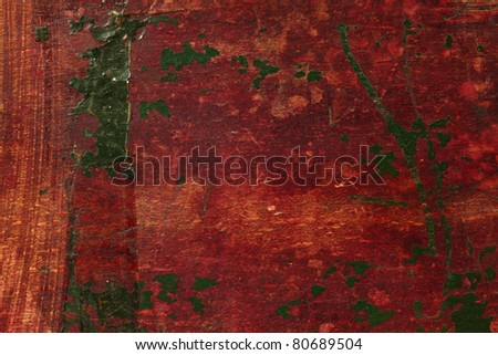 Antique wooden painted texture - stock photo