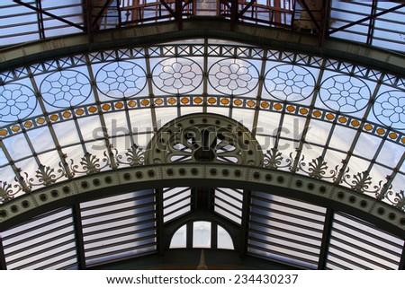 Antwerp Railway Station - stock photo