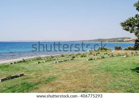 ANZAC Cove, Gallipoli - stock photo