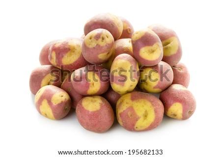 apache potatoes - stock photo