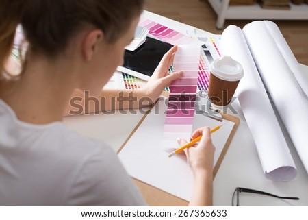 Apartment, app, artist. - stock photo