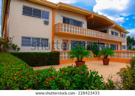 Apartment in Miami Beach - stock photo