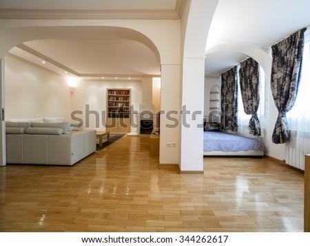 Apartment interior - stock photo